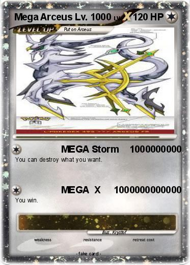 The Card Mega Arceus Ex Yahoo Image Search Results