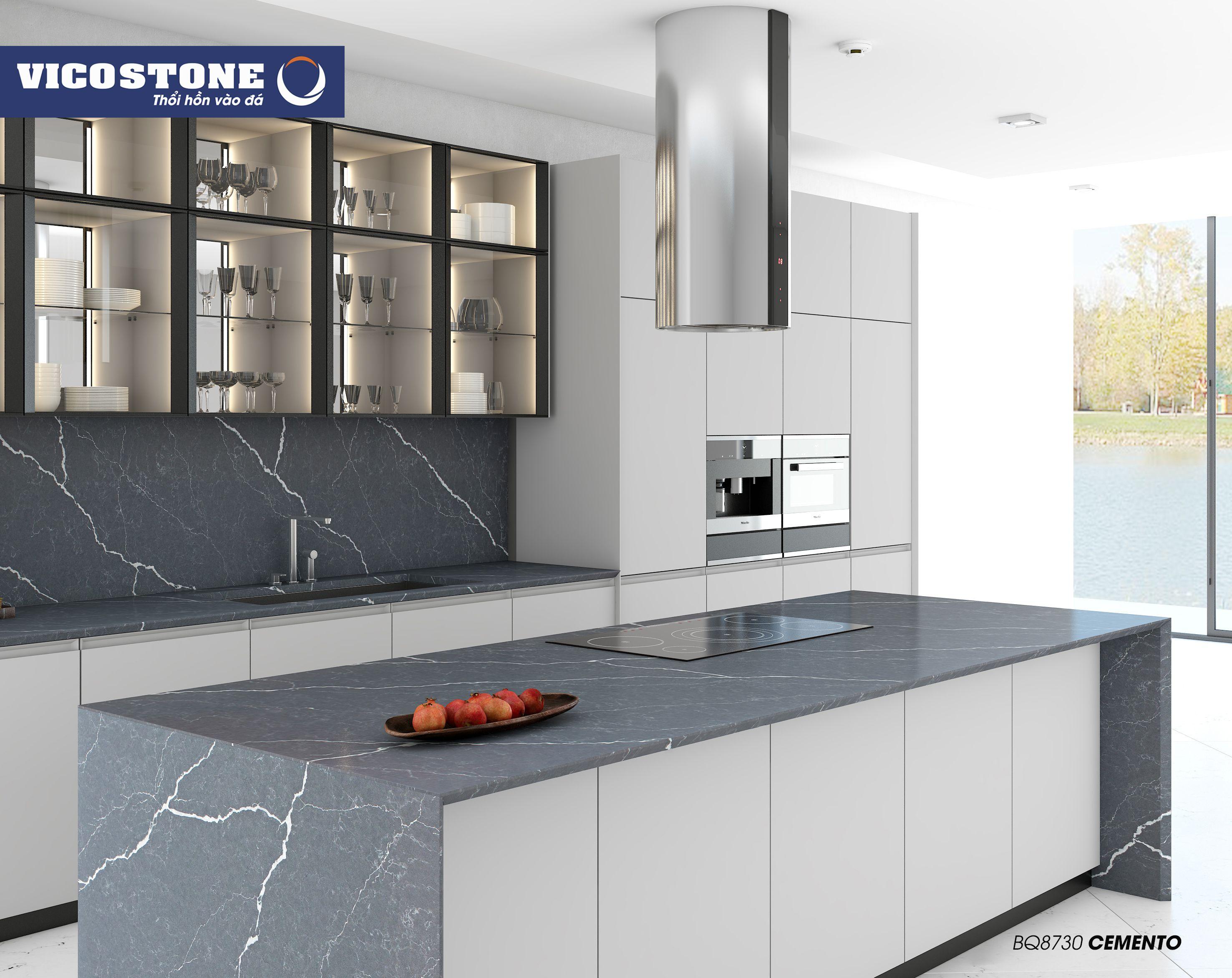 Cemento Bq8730 In 2020 Countertop Design Countertops Kitchen Redo