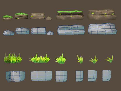 Cartoon Of Palm Tree 3d Model In 2020 Cartoon Trees Tree