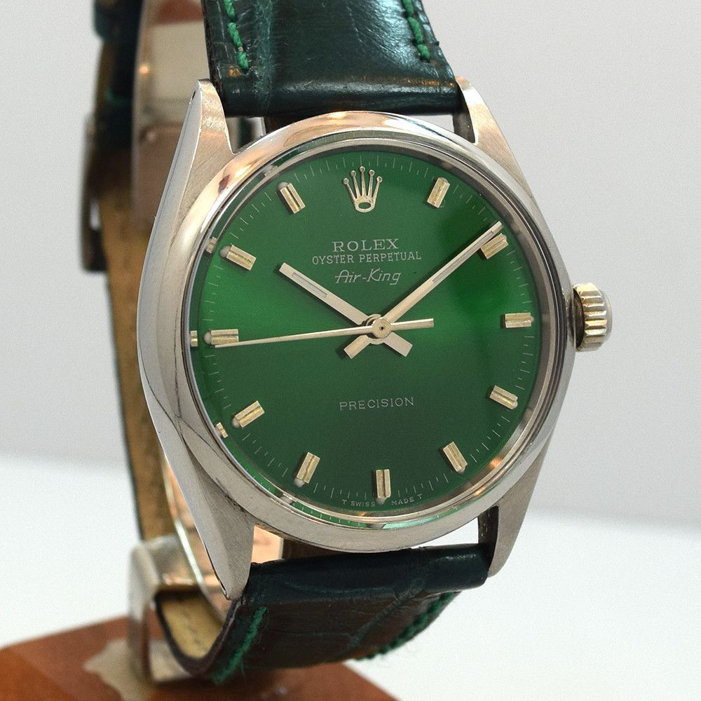 1969 Vintage Rolex AirKing Ref. 1005 with a Custom