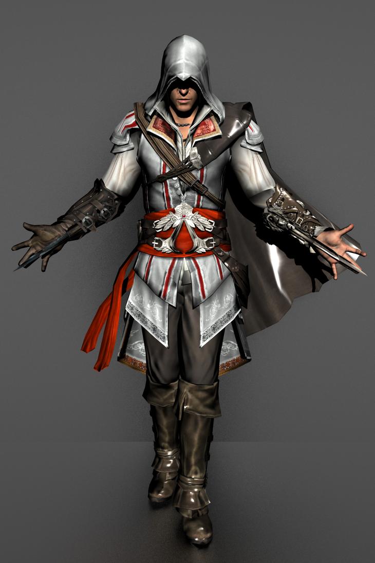 Assassin's Creed II - Ezio Auditore by IshikaHiruma ...