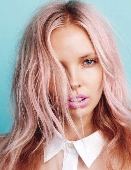 Pastel Pink Hair Color Strawberry Blonde Hair Inspiration Color