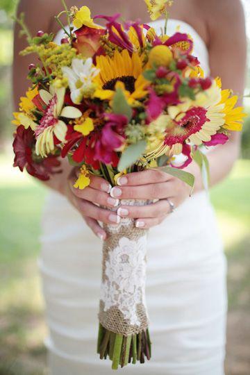 Fall Bouquet | Cedarwood Weddings
