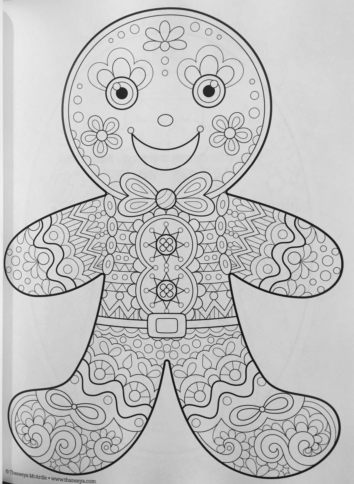 Christmas Coloring Book (Coloring Is Fun) Thaneeya