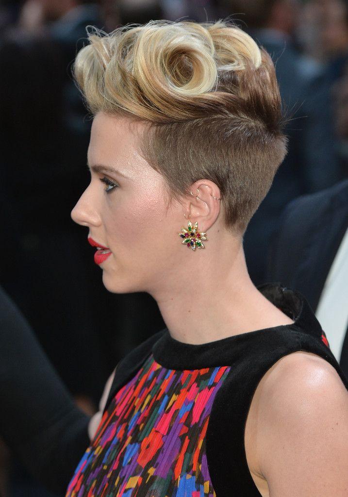 2ca065ba72aa Scarlett Johansson Fauxhawk - Fauxhawk Lookbook - StyleBistro