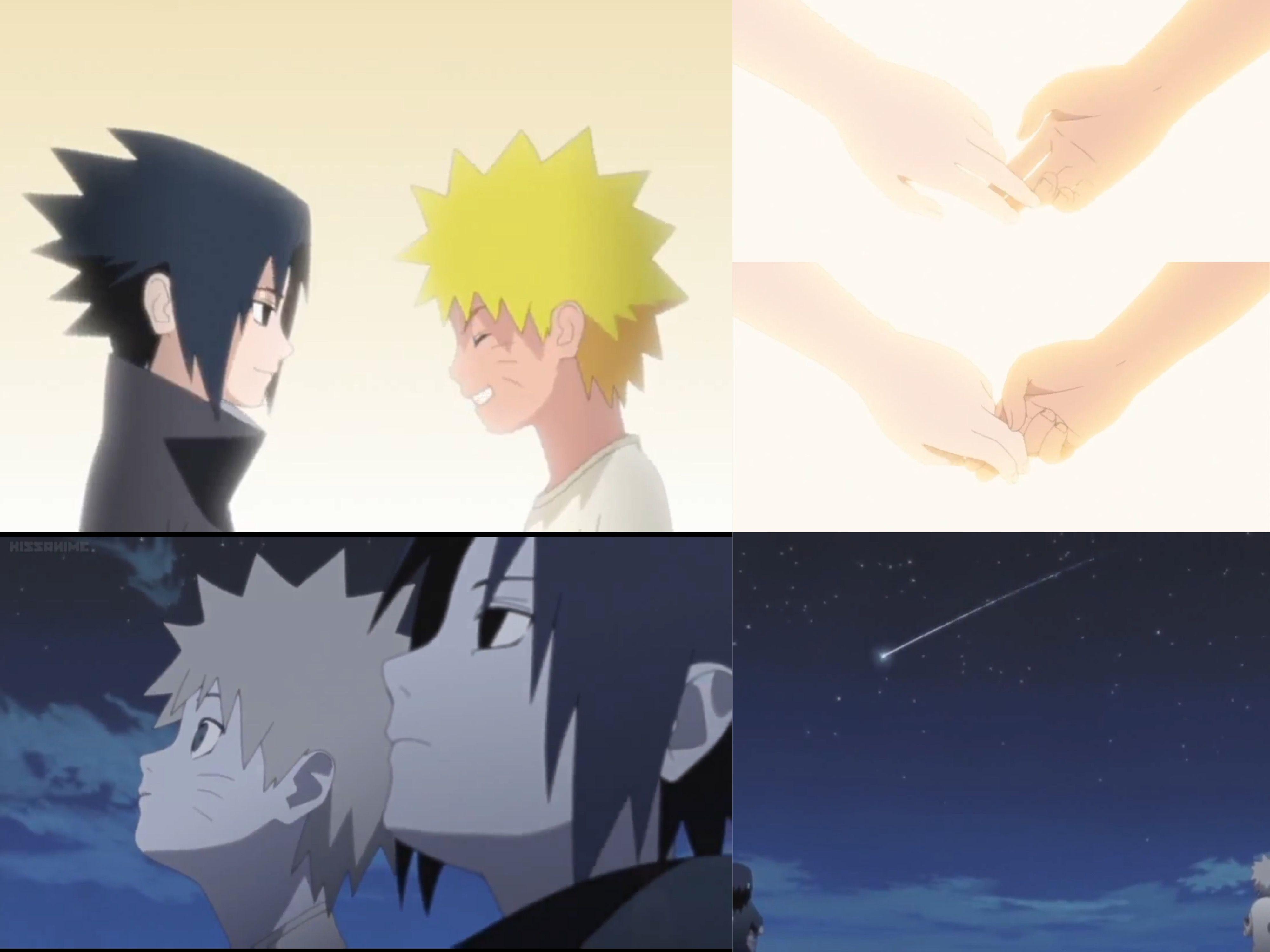 Sasuke and Naruto as kids. Naruto Shippuden OVA