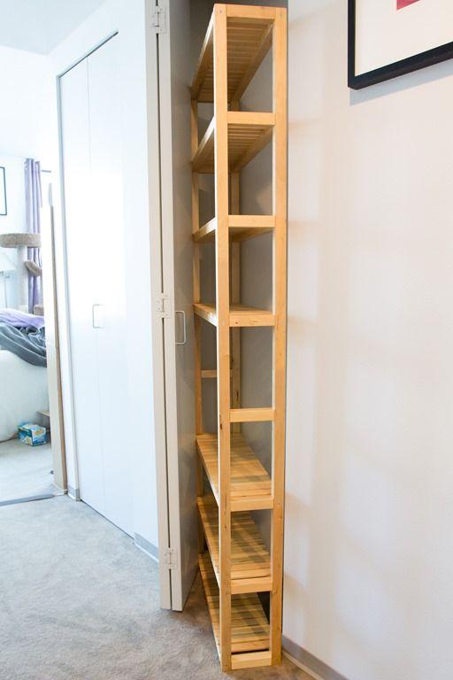 Building a Molger pantry shelf – an Ikea Hack | Meglet Rambles On ...