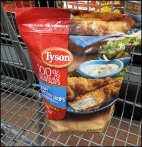 $1 off ANY 1 Tyson Crispy Chicken Strips