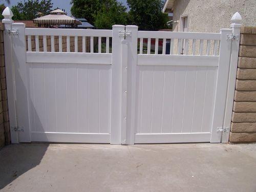 Valencia Vinyl Fence Vinyl Fence Vinyl Gates Fence Design