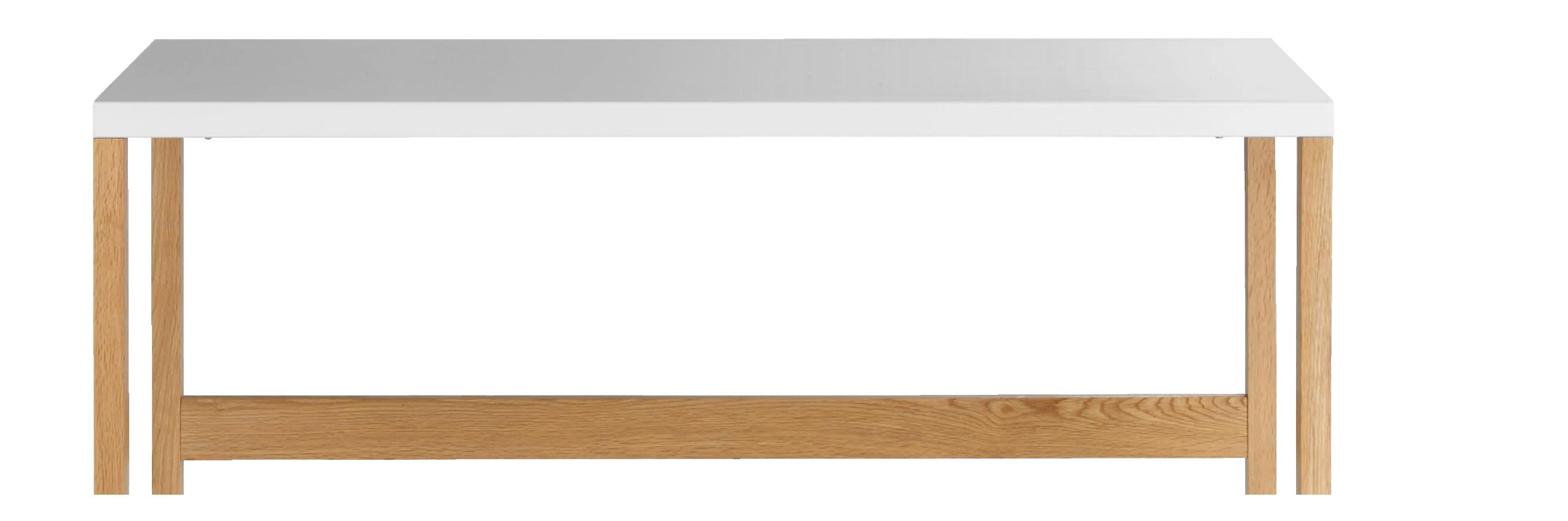 Kilo Console En Acier Laque Blanc Et Pieds En Chene Avec Images Chene Massif Chene Console