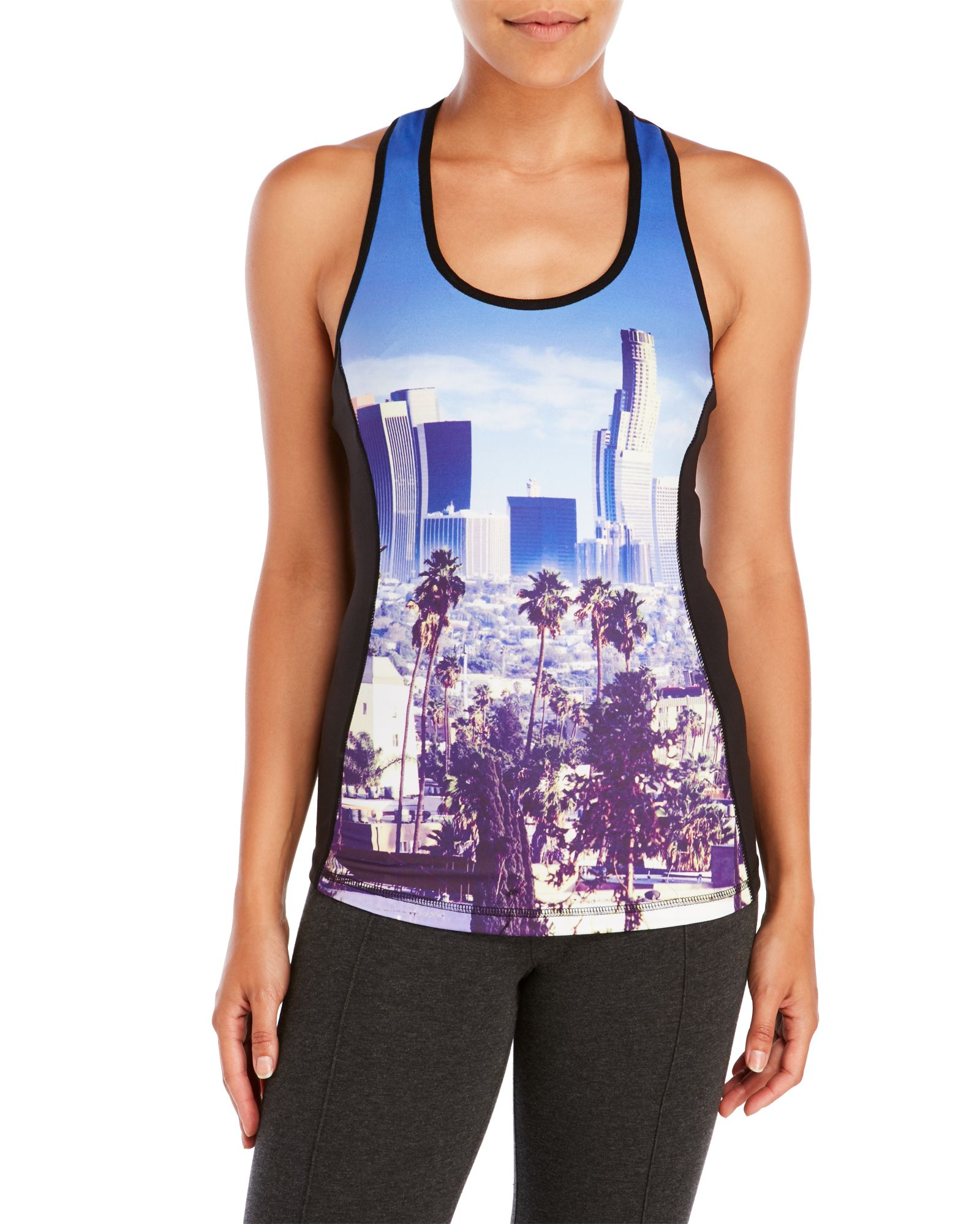 lowest price f44f9 ac3fd Sport Racerback Graphic Compression Tank | *Apparel ...