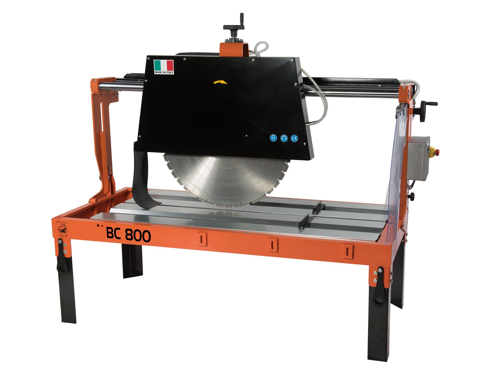 Radial Block Cutter, BC version, designed for cutting blocks in the construction industry.