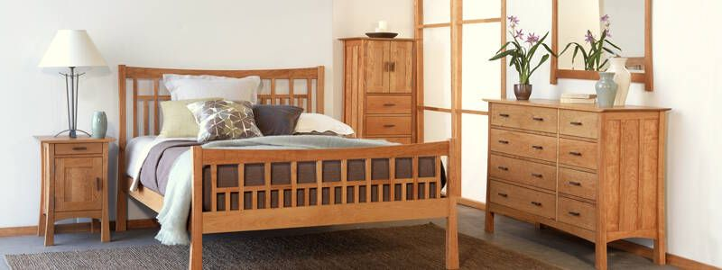 Mission  Craftsman Style Furniture American Made Natural Real