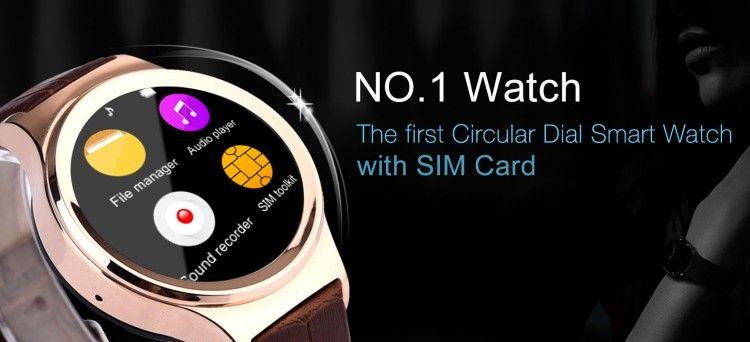 Ver NO.1 Watch S3, un reloj inteligente con tarjeta SIM solo por 60 doláres