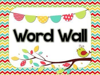 word wall header and alphabet cards word wall headers on word wall id=33279