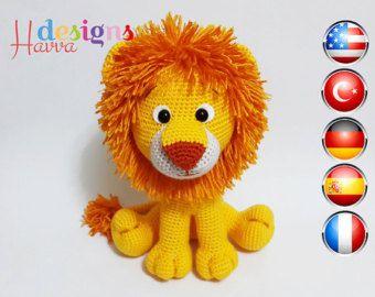 Crochet Amigurumi Lion Patterns : Pattern: lion amigurumi lion pattern crochet by kristitullus