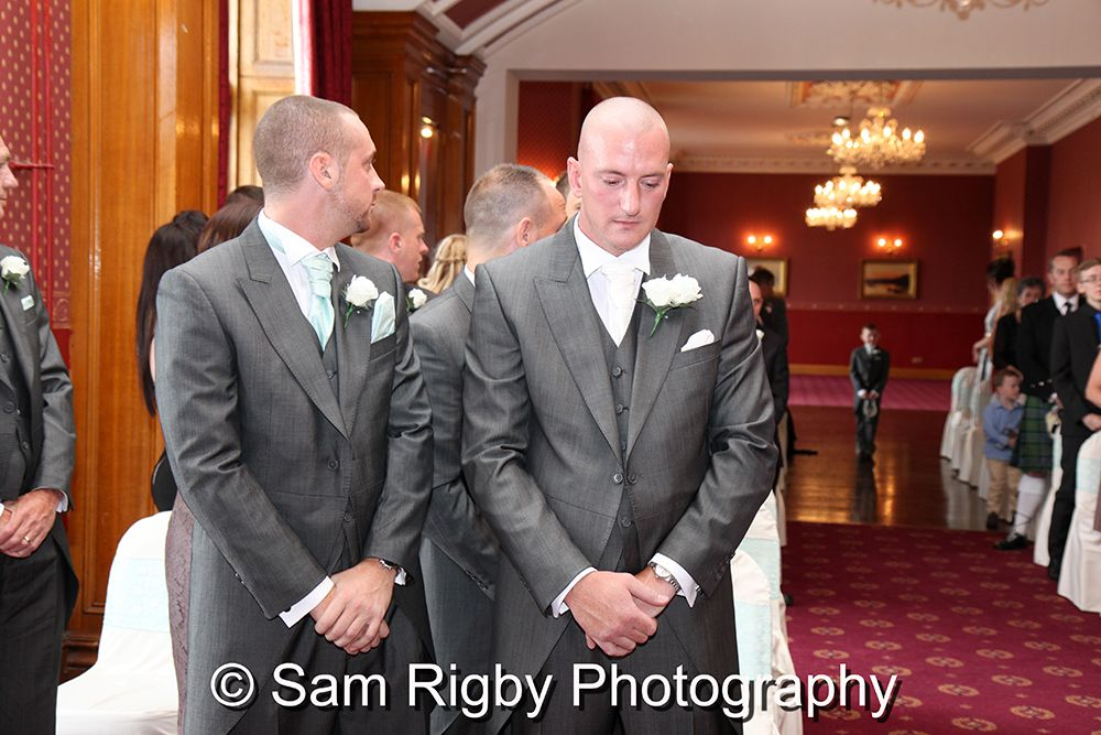 The Wedding of Katie & Sam Neil on the 10th August 2014 at Haigh Hall, Wigan - Sam Rigby Photography - to see more images from this wedding please visit https://www.facebook.com/samrigbyphoto