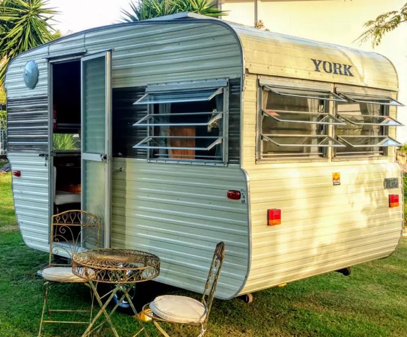Millard York Micro Bunks Vintage 1975 Caravan Sleeps 4 Immaculate Caravans Gumtree Australia Gold Coas Caravan Renovation Outdoor Awnings Gumtree Australia
