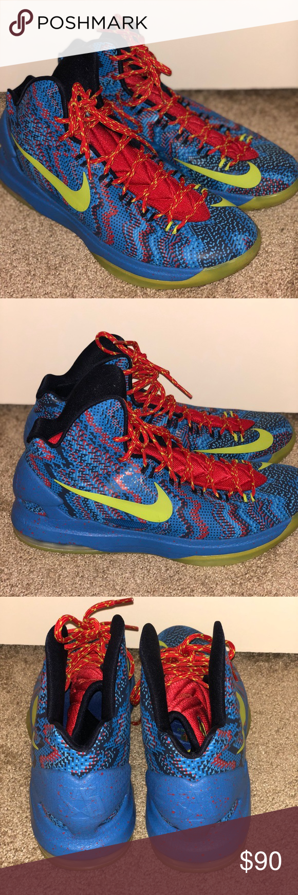 KD 5 Christmas Edition | Shoes sneakers, Size 12 and Nike shoe