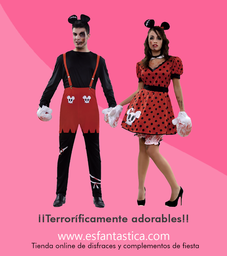 Disfraz de mickey y minnie pose dos disfraces para - Fiesta de disfraces ideas ...