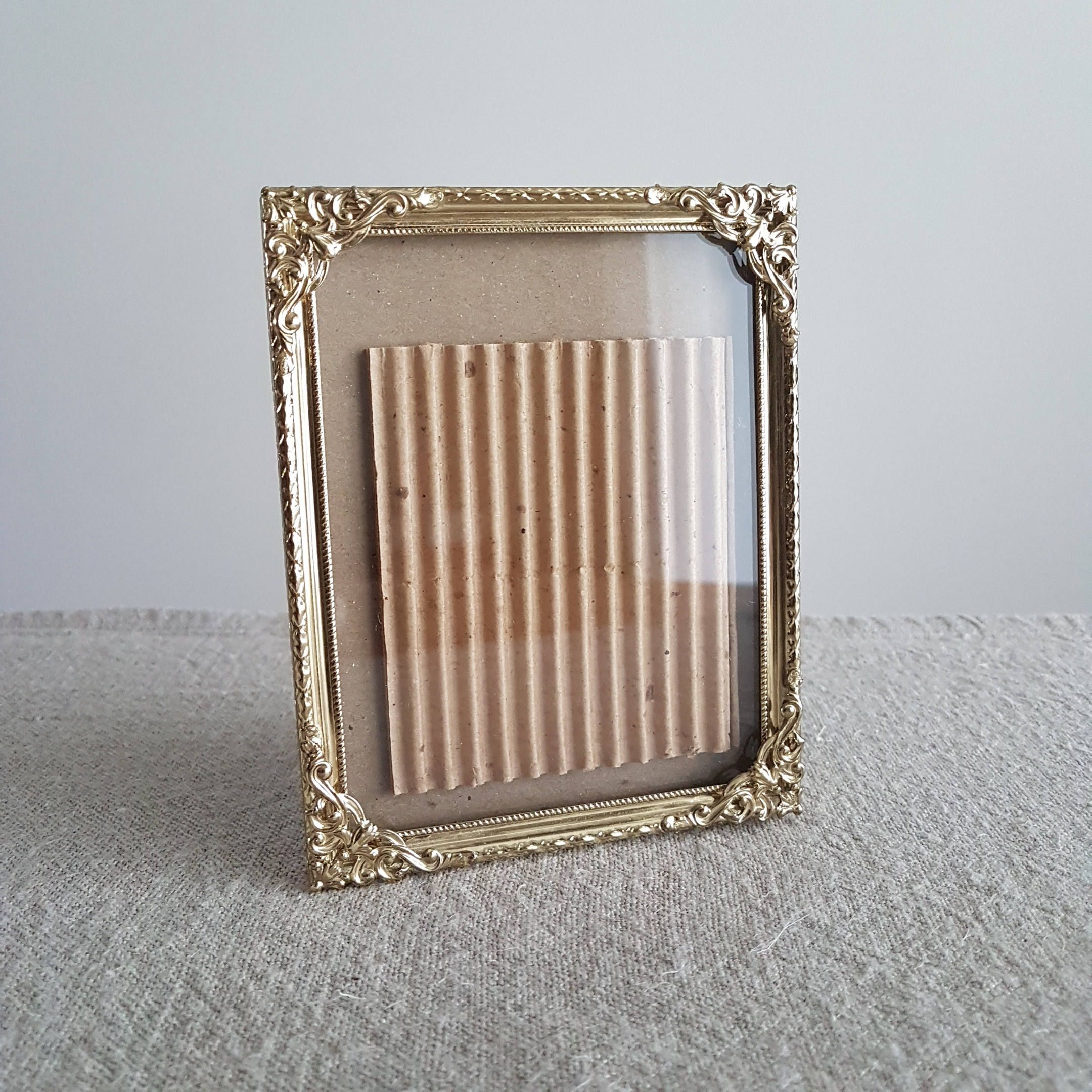 4 X 5 Gold Metal Picture Frame Photo Frame Wedding Signs