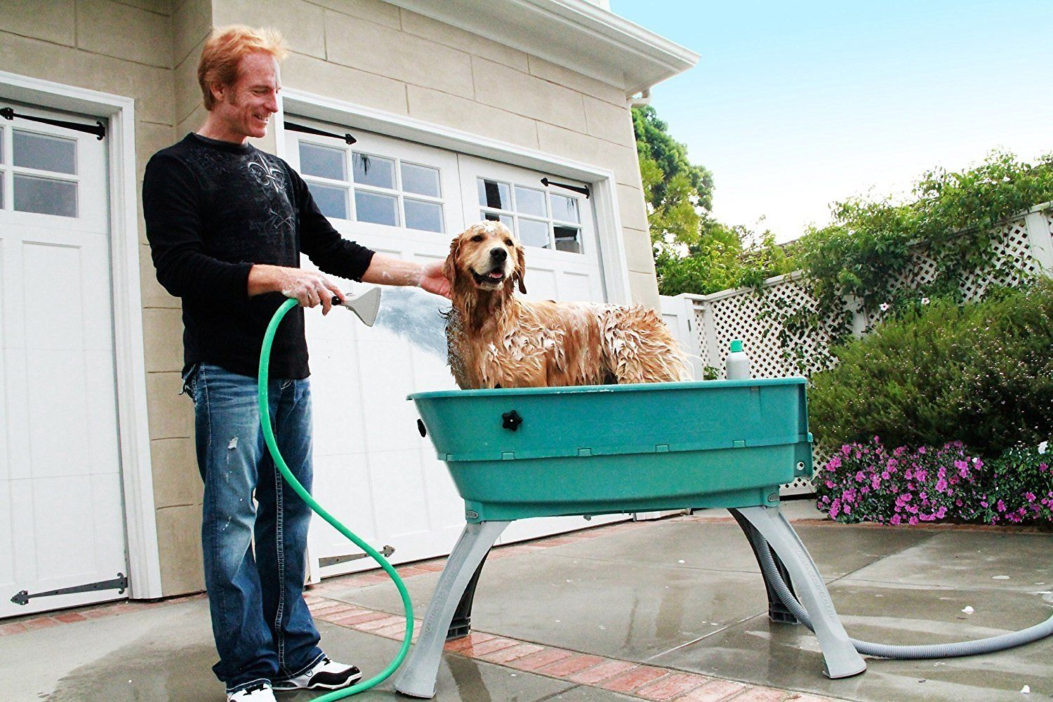 Raised Dog Wash In The Laundry Room Pet Grooming Tub Laundry