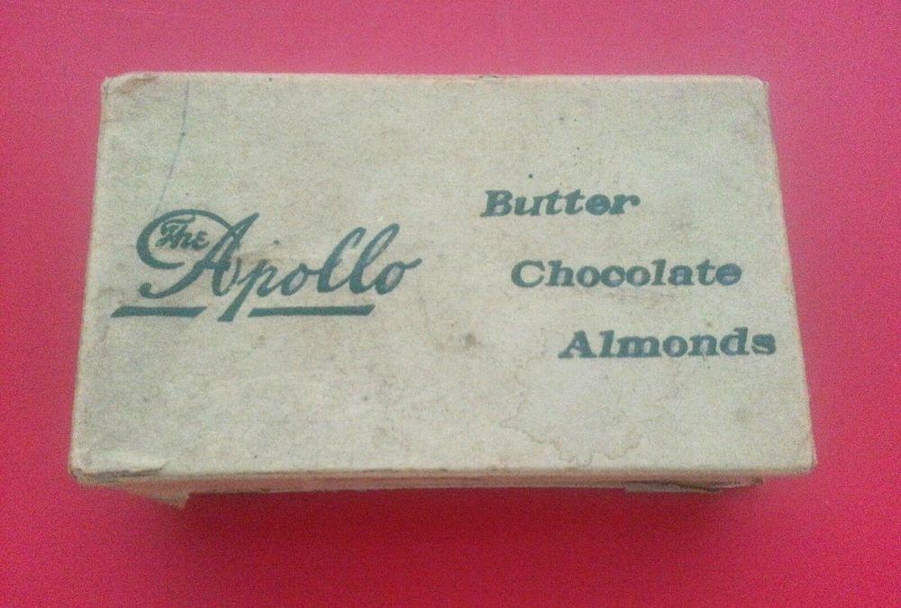 Vintage FH Roberts Co. The Apollo Paper Candy Box Early 1900s Original  #TheApollo