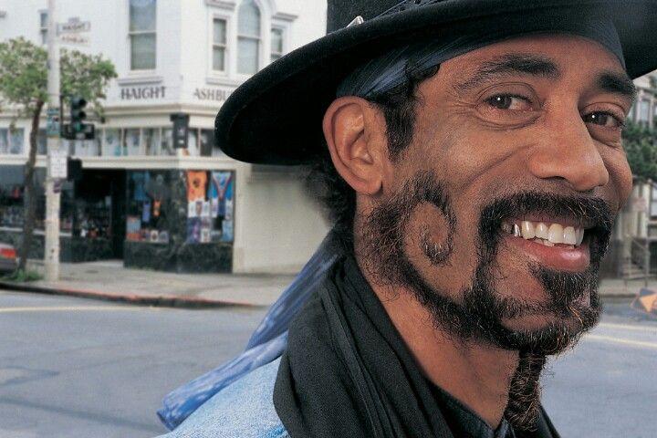 Swirly Beard and mustache styles, Beard no mustache