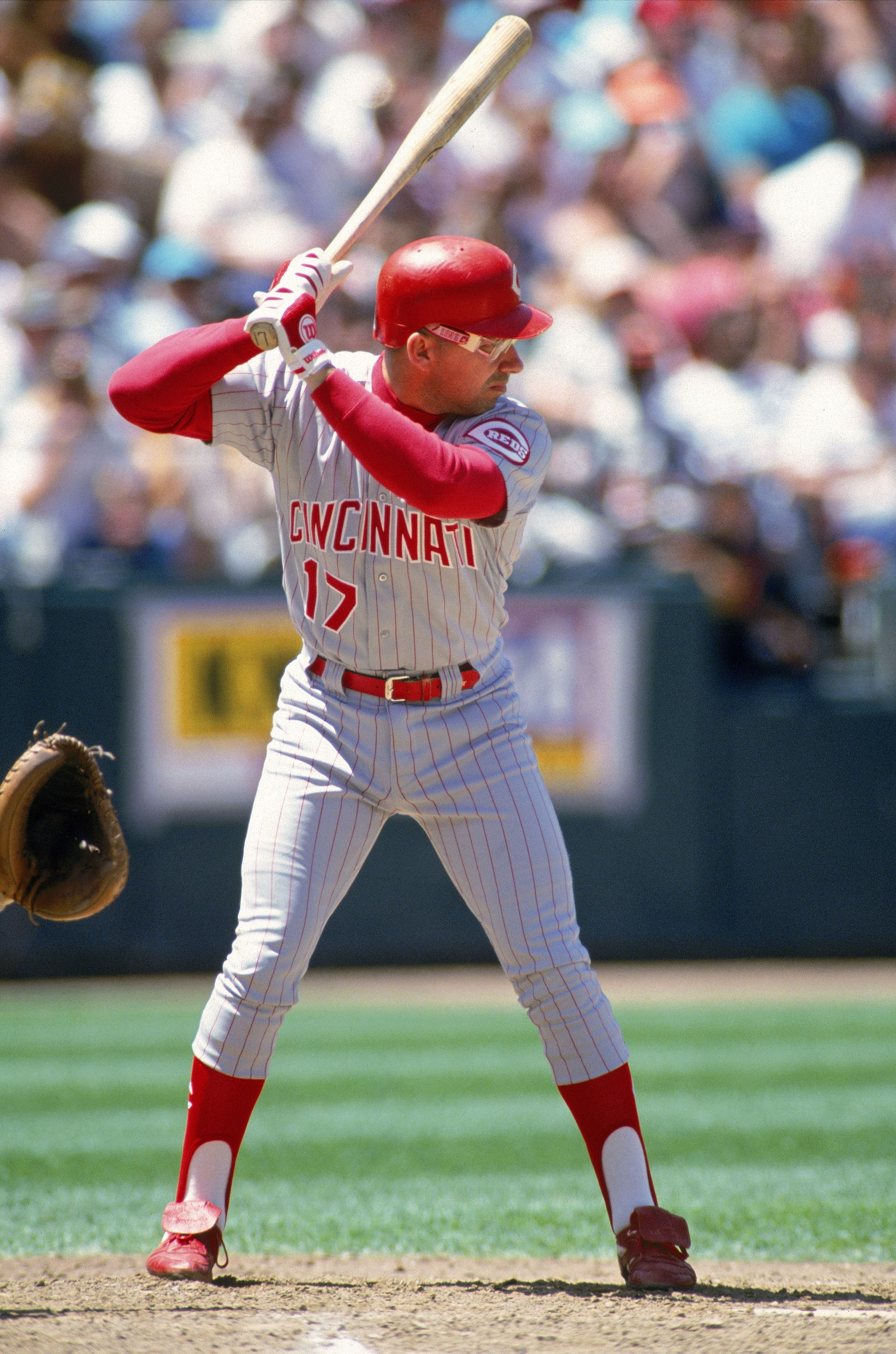 Chris Spuds Sabo Cincinnati Reds Baseball Cincinnati Reds Reds Baseball