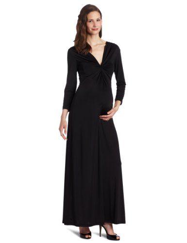 Olian black maxi dress