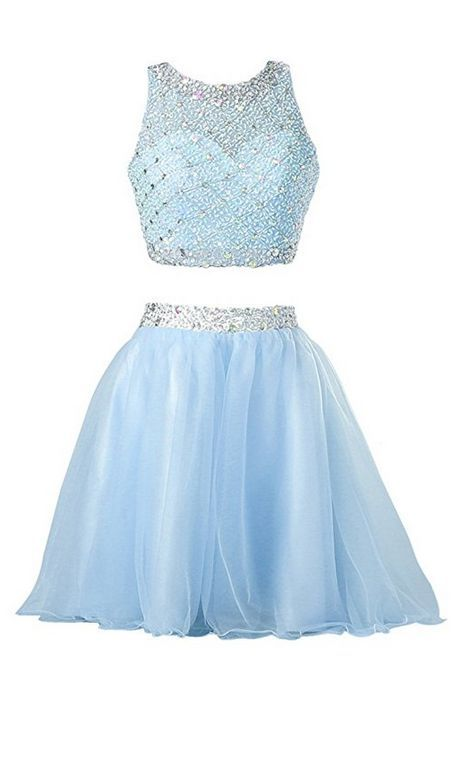 Two Piece Homecoming Dresses For