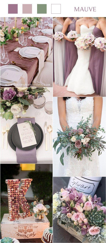 ** Mauve Wedding Theme Ideas ** 40 + Mauve Wedding Color Ideas for 2020   Mauve Wedding Table…