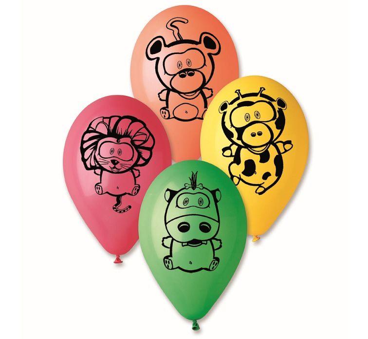 Balony Urodzinowe Zwierzatka Z Zoo Malpka 25szt 5307284953 Oficjalne Archiwum Allegro Guitar Pick Music Instruments