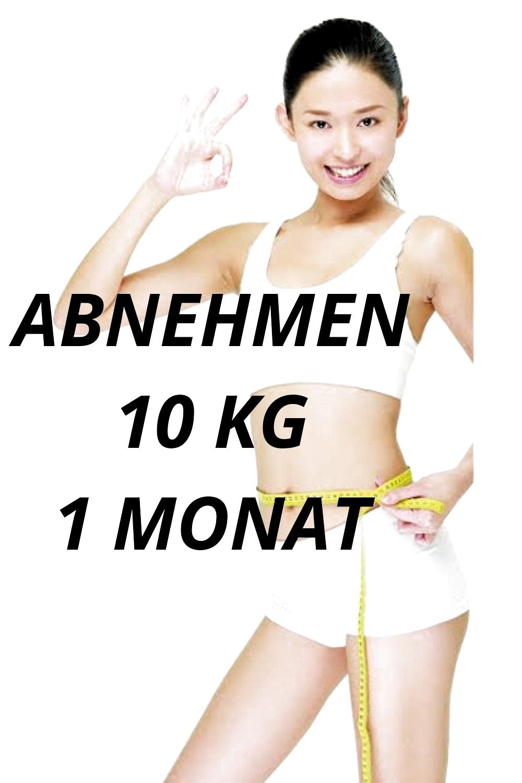 Abnehmen in 1 Monat Diät