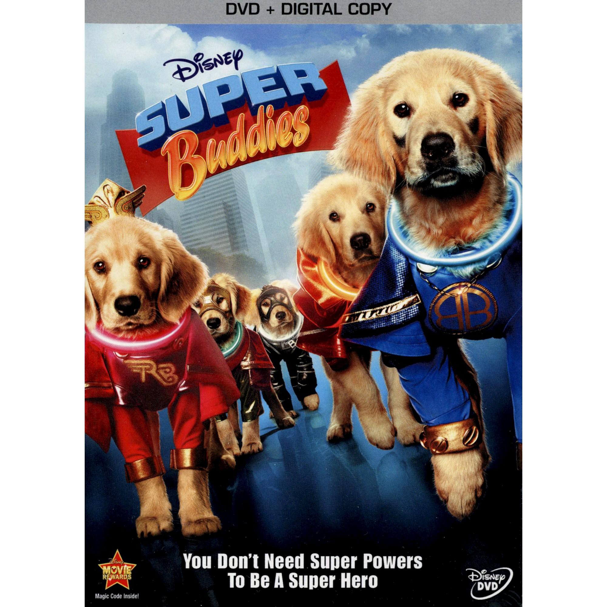 Super Buddies 2 Discs Includes Digital Copy Dog Movies Kids