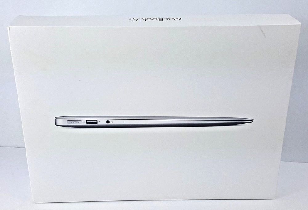 "- CLEAN Empty Box /& Inserts ONLY MacBook Air 13/"" A1466 Apple Retail Box"