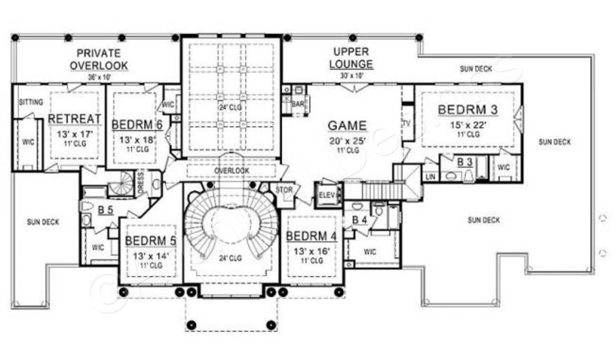 Presidential Estate House Plan House Plans Luxury House Plans Luxury Floor Plans