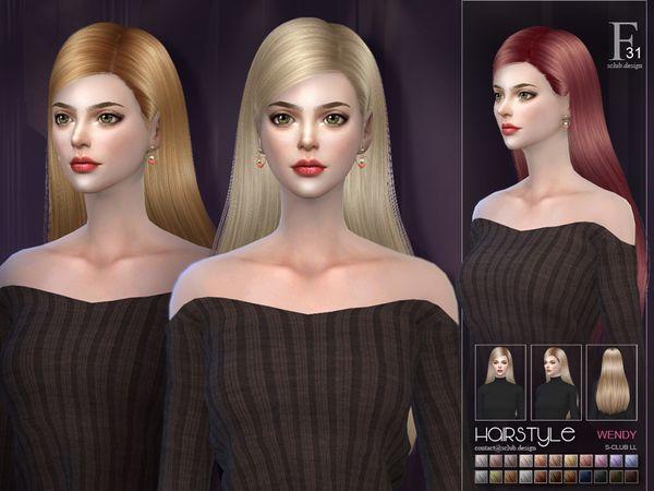 S Club s sclub ts4 hair Wendy n31