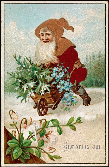 Glædelig Jul, 1885 by National Library of Norway, via Flickr