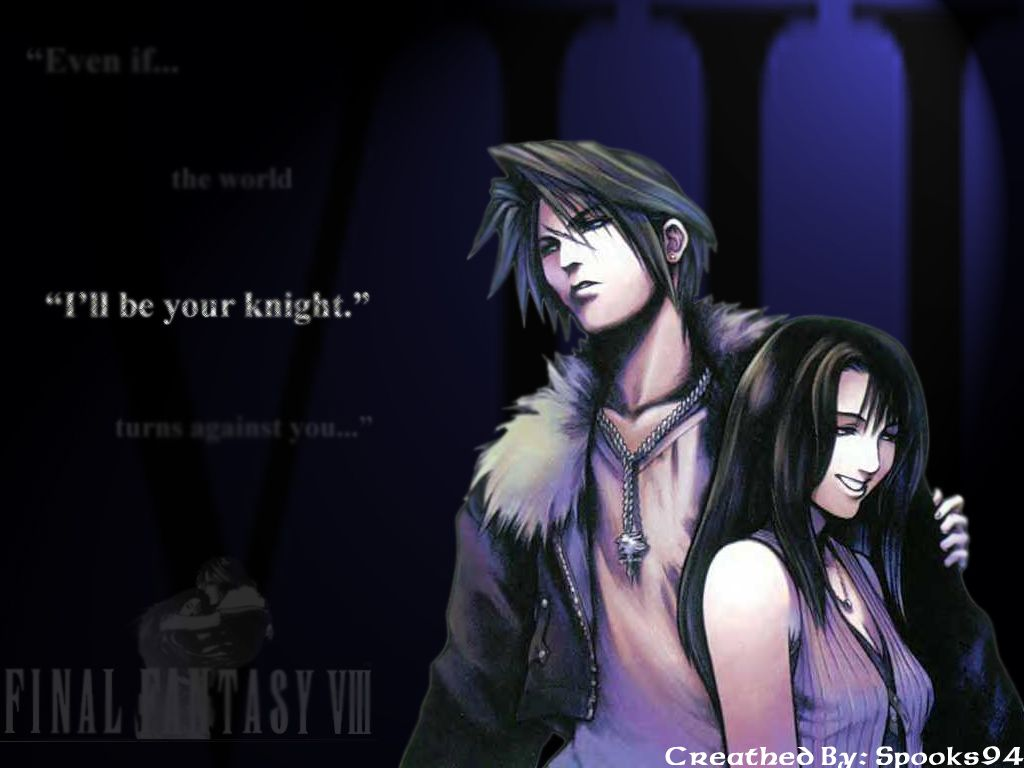 Squall And Rinoa Final Fantasy Viii Squall Leonhart Rinoa Heartilly 1024x768 Wallpaper Final Fantasy Final Fantasy Tattoo Fantasy Pictures