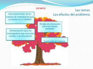 Técnica Del árbol De Problemas Arbol De Problemas Problemas Arboles