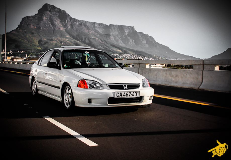 OEM Honda Ballade VTec - Cape Towns finest @ M5 Freeway Cape Town
