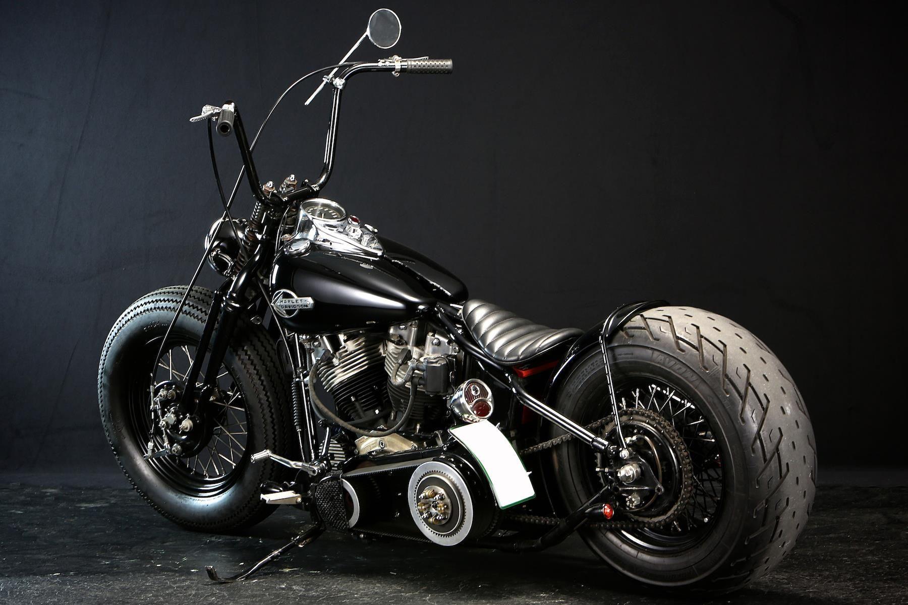 Bad Land Custom Yokohama Japan Custom Motorcycles Harley Bobber Bikes Harley Bobber [ 1200 x 1800 Pixel ]
