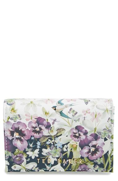TED BAKER Entangled Enchantment Leather Wallet. #tedbaker #