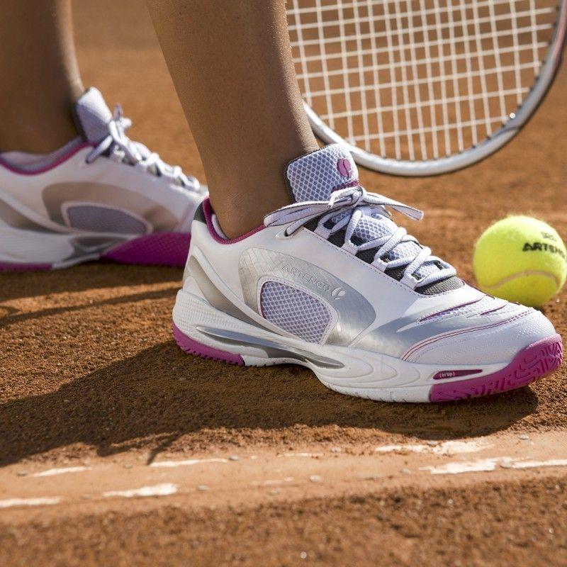 Artengo TS850 Shoes ! Cushioning : EVA midsole for good shock absorption.  #Artengo #Tennis