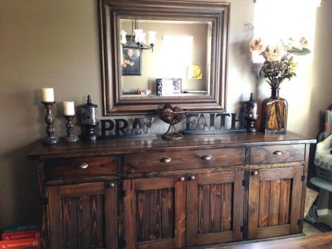 Sideboard To Match Farmhouse Table Dining Room Tutorials