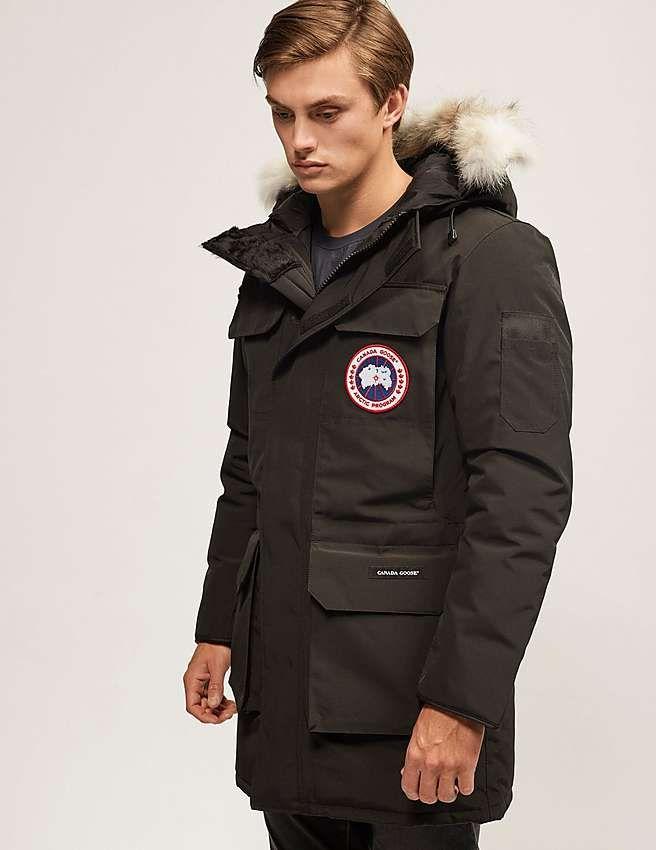 black canada goose citadel parka jacket aw15 canada goose in 2019 rh pinterest com