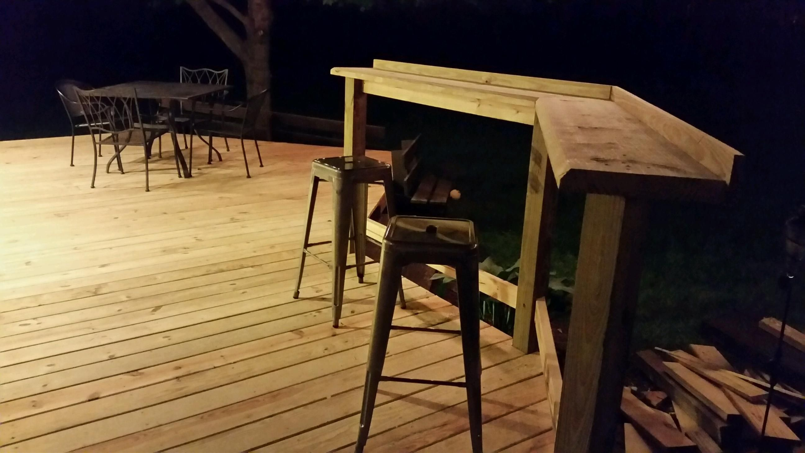 When We Needed To Replace Our Deck Boards We Removed