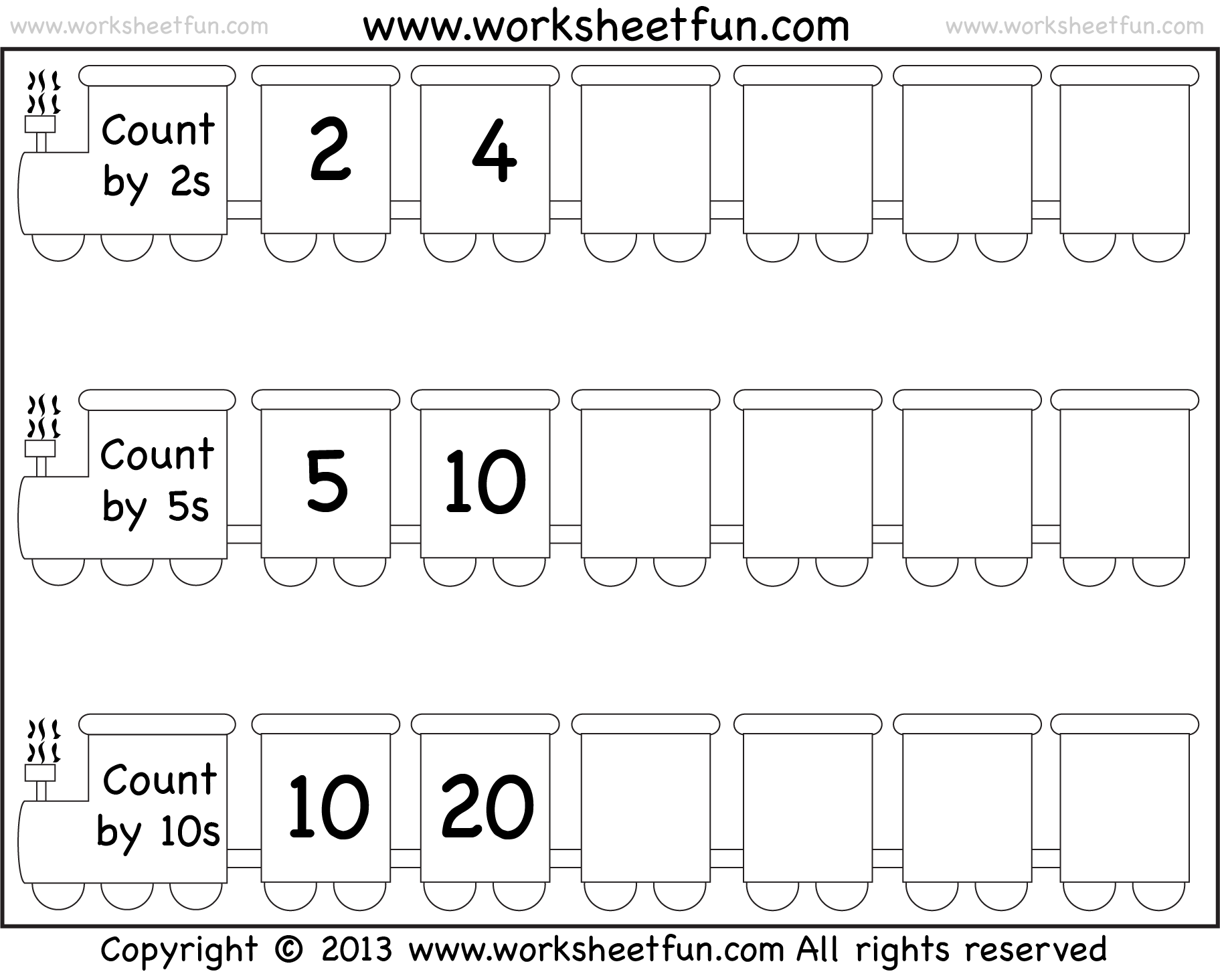 worksheet Skip Counting By 10 Worksheets skipcounting train wfun 4 png pixels math pinterest skip counting by 11 and 12 two worksheets free printable worksheets