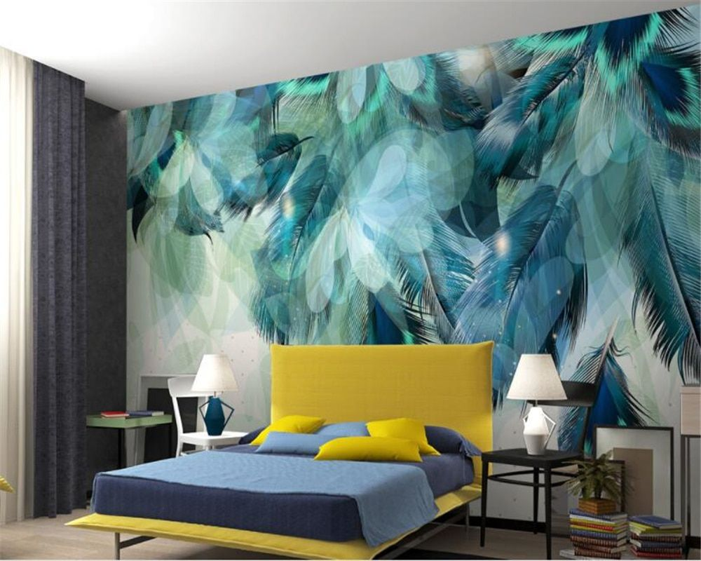 83 Ide Modern Blue Bedroom Kamar Tidur Biru Rumah Warna Cat Kamar Tidur